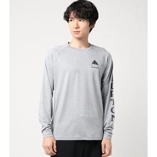 バートン(BURTON)のBURTON  バートン テクニカル ロング Tシャツ グレー XS(Tシャツ/カットソー(半袖/袖なし))