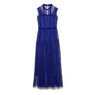フレイアイディー(FRAY I.D)の新品 フレイアイディー   ベルベットシーム チュール ドレス(ロングワンピース/マキシワンピース)