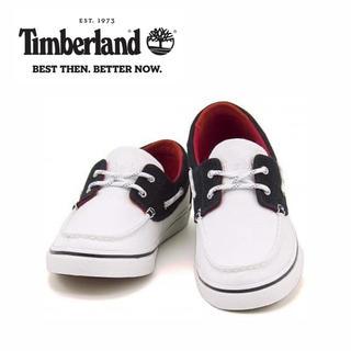ティンバーランド(Timberland)の【新品】Timberland NEWMARKET BOAT OXFORD UK7(デッキシューズ)