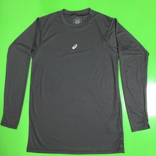 アシックス(asics)のアシックスアンダーシャツ  サイズ L  ブラック(Tシャツ/カットソー(七分/長袖))