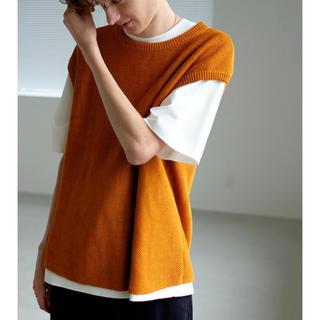 ワンエルディーケーセレクト(1LDK SELECT)のunfil (アンフィル) french linen knit vest 5(ベスト)
