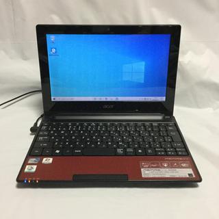 エイサー(Acer)のacer Aspire one D255E-rr125   Atom N455(ノートPC)