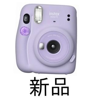 フジフイルム(富士フイルム)のインスタントカメラ instax mini 11 ライラックパープル(フィルムカメラ)