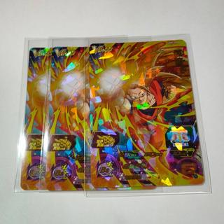 スーパードラゴンボールヒーローズ 孫悟空 vジャンプ  限定 ×3枚(シングルカード)