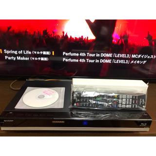アクオス(AQUOS)のAQUOS BD-W580 W録HDD1TB換装 リモコン新品(ブルーレイレコーダー)