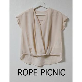 ロペピクニック(Rope' Picnic)のロペピクニック  ピンク  トップス(カットソー(半袖/袖なし))