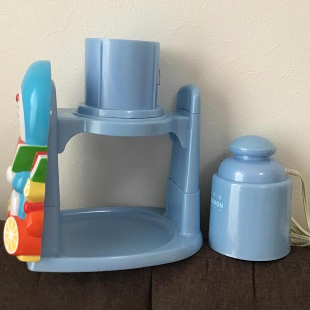 ドウシシャ(ドウシシャ)のドラえもん 電動かき氷機 インテリア/住まい/日用品のキッチン/食器(調理道具/製菓道具)の商品写真