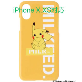 ミルクフェド(MILKFED.)の新品 iPhone Xケース(iPhoneケース)