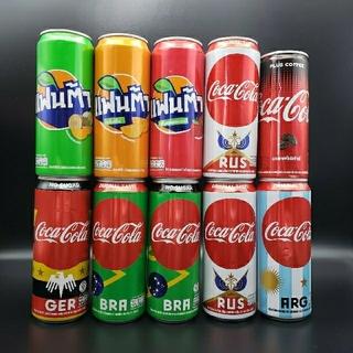 コカコーラ(コカ・コーラ)の海外限定★2018 FIFAワールドカップ ロシア大会デザイン★コカ・コーラ空缶(その他)