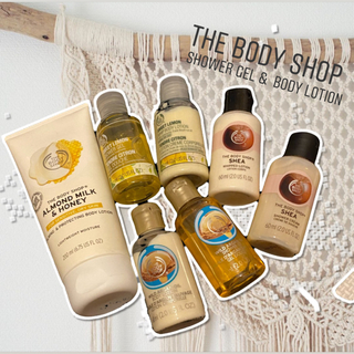 ザボディショップ(THE BODY SHOP)のTHE BODY SHOP SHOWER GEL & BODY LOTION(ボディローション/ミルク)