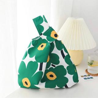 北欧風 トートバッグ ハンドバッグ エコバッグ 花柄 マリメッコ風 ミニバッグ(エコバッグ)