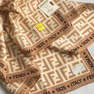 フェンディ(FENDI)のフェンディ シルク混スカーフ X ★新品未使用★(バンダナ/スカーフ)