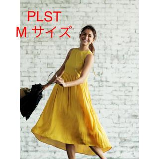 PLST - 未使用*PLST×otonaMUSEコラボ☆ バックレースアップワンピース