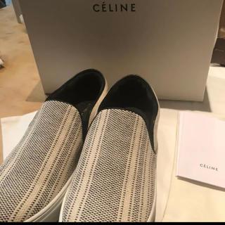 セリーヌ(celine)のCELINE セリーヌスケーター 38 フイービーファイロ(スリッポン/モカシン)