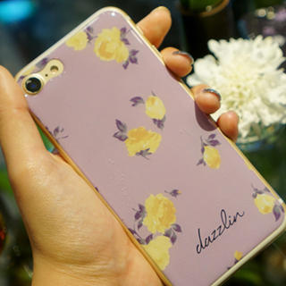 dazzlin  花柄 iPhone7、8 ギズモビーズ