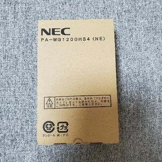 NEC - 未使用新品 NEC Aterm WG1200HS4 IPv6 無線LANルータ
