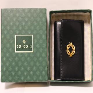 グッチ(Gucci)のオールドグッチ 4連キーケース 美品(キーケース)