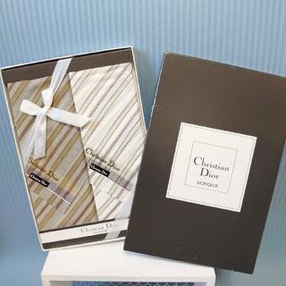 クリスチャンディオール(Christian Dior)の【Dior】メンズハンカチ(ハンカチ/ポケットチーフ)