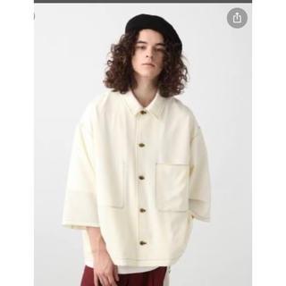 ハレ(HARE)のHARE ステッチシャツ アイボリー サイズS(Tシャツ/カットソー(半袖/袖なし))