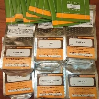 ルピシア(LUPICIA)の*専用* ルピシア リーフティー 6袋+試供品(茶)