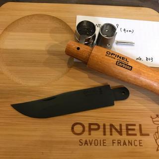 オピネル(OPINEL)のr8 オピネル Opinel No.9 カーボン 9cm 黒錆加工済み(調理器具)