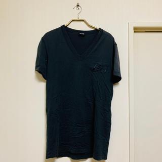 ドルチェアンドガッバーナ(DOLCE&GABBANA)のドルチェ&ガッバーナ Vネック Tシャツ ドルガバ(Tシャツ/カットソー(半袖/袖なし))