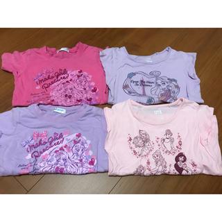 バンダイ(BANDAI)の子供服 半袖 110 プリキュア ディズニー プリンセス(Tシャツ/カットソー)