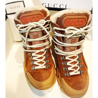グッチ(Gucci)のグッチ フラッシュトレック ハイカット スニーカー ブーツ シューズ 靴(スニーカー)