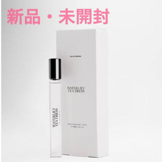 ZARA - 新品未使用 ZARA waterlily tea dress 香水