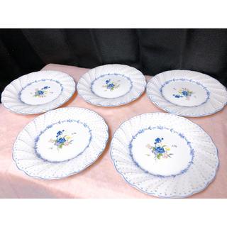 ニッコー(NIKKO)のニッコウ NIKKO 花柄 5枚 ベリーセット レトロ 取り皿セット (食器)