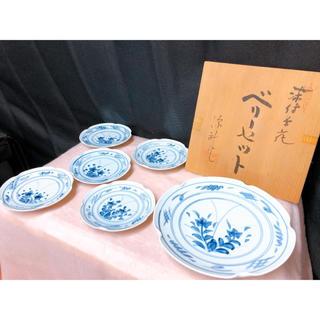 未使用 ベリーセット 花柄 和食器 6枚セット 皿 食器(食器)