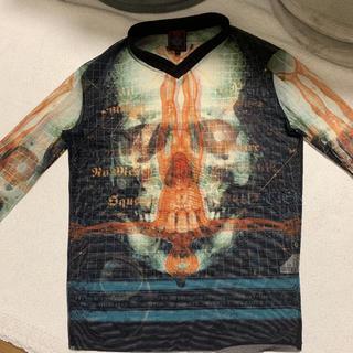 ジャンポールゴルチエ(Jean-Paul GAULTIER)のJean Paul Gaultier パワーネット スカル(Tシャツ/カットソー(七分/長袖))