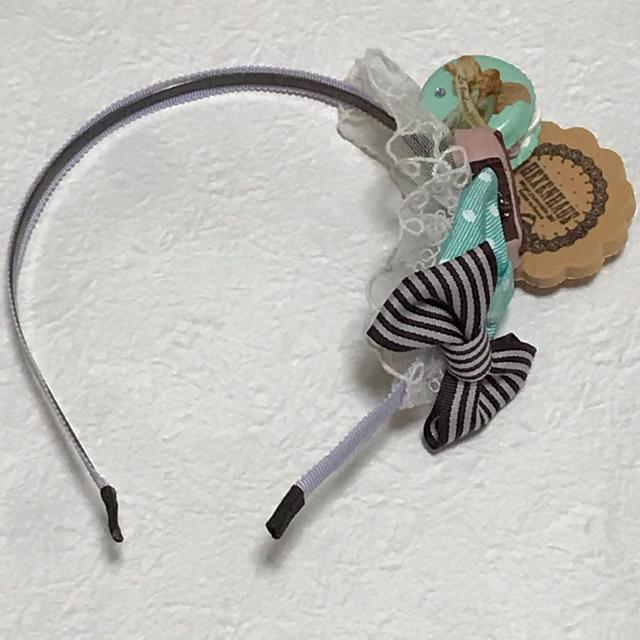Angelic Pretty(アンジェリックプリティー)のHEXENHAUS  天使マカロンスイーツカチューシャ レディースのヘアアクセサリー(カチューシャ)の商品写真