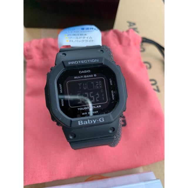 Baby-G(ベビージー)の[カシオ] 腕時計 ベビージー  BGD-5000MD-1JF ブラック メンズの時計(腕時計(デジタル))の商品写真