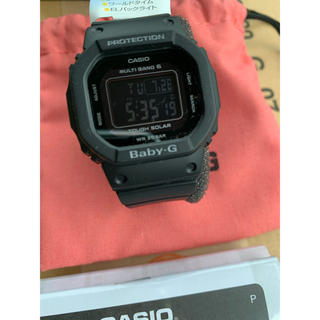 ベビージー(Baby-G)の[カシオ] 腕時計 ベビージー  BGD-5000MD-1JF ブラック(腕時計(デジタル))