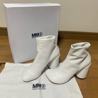 エムエムシックス(MM6)のmm6 アンクルブーツ(ブーツ)