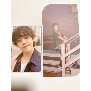 セブンティーン(SEVENTEEN)のエスクプス ヘンガレ トレカ ブックマーク(K-POP/アジア)