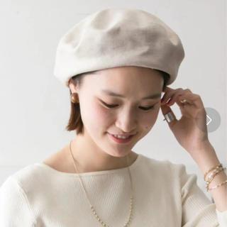 アーバンリサーチ(URBAN RESEARCH)のアーバンリサーチ リネン サマーベレー帽(ハンチング/ベレー帽)