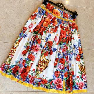 ドルチェアンドガッバーナ(DOLCE&GABBANA)のdolce&gabbana   スカート(ひざ丈スカート)