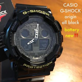 ジーショック(G-SHOCK)の【ほぼ新品】CASIO カシオ G-SHOCK GA-100 タグ付(腕時計(デジタル))