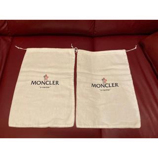 モンクレール(MONCLER)のMoncler 巾着バッグ シューズケース モンクレール 2点(ショップ袋)