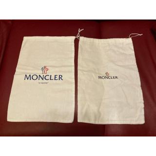 モンクレール(MONCLER)のモンクレール 巾着 バッグ シューズケース ガーメント Moncler(かごバッグ/ストローバッグ)