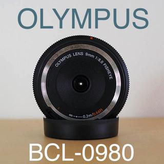 オリンパス(OLYMPUS)の【OLYMPUS】ボディーキャップレンズ、BCL-0980 フィッシュアイレンズ(レンズ(単焦点))