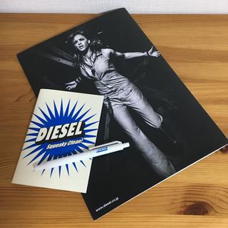 DIESEL - DIESEL ディーゼル ノベルティ ステーショナリーグッズ 非売品