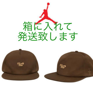 NIKE - ナイキ travis scott jordan CAP ブラウン