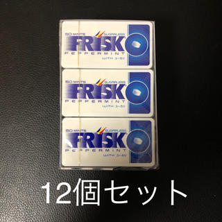 クラシエ(Kracie)のFRISK ペパーミント ユーカリ 12個セット(口臭防止/エチケット用品)