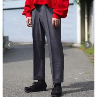 """アンユーズド(UNUSED)のKAIKO カイコー THE PREST """"D.GRY""""パンツ サイズ0(スラックス)"""
