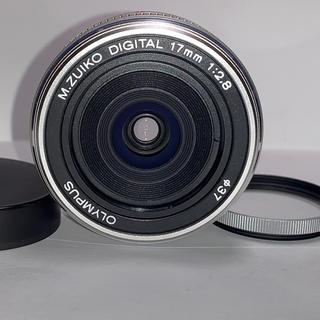オリンパス(OLYMPUS)のオリンパス M.ZUIKO DIGITAL 17mm F2.8(レンズ(単焦点))