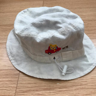 mikihouse - ミキハウス 帽子 リバーシブル風