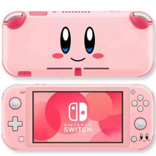 ニンテンドースイッチ(Nintendo Switch)の◎SALE◎ 星のカービィ 任天堂SwitchLite  保護スキンシール(その他)